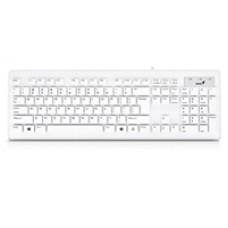 Genius Slimstar 130 Slim Design USB Keyboard White