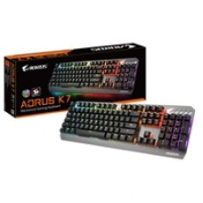 Gigabyte Aorus K7 RGB Fusion LED Cherry MX Red Key Switches USB Mechanical Gaming Keyboard