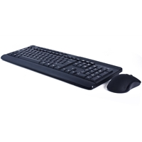 Sumvision Paradox VI Wireless Keyboard and Mouse Set Black