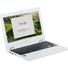 Acer Chromebook 11 CB3-132-C911 NX.G4XEK.001 Intel Celeron N3060 2GB RAM 16GB SSD 11.6 inch Chrome OS Laptop White