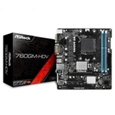ASRock 760GM-HDV AMD Socket AM3+ Micro ATX VGA/DVI-D/HDMI DDR3 USB 2.0 Motherboard