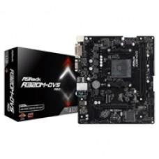ASRock A320M-DVS AMD Socket AM4 DDR4 Micro ATX DVI-D/VGA USB 3.1 Motherboard