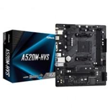 ASRock A520M-HVS AMD Socket AM4 Micro ATX VGA/HDMI M.2 USB 3.2 Gen1 Motherboard