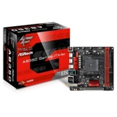 ASRock Fatal1ty AB350 Gaming-ITX/ac AMD Socket AM4 Ryzen Mini-ITX DDR4 HDMI Ultra M.2 USB 3.0 Motherboard