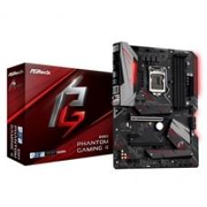 ASRock B365 Phantom Gaming 4 Intel Socket 1151 ATX HDMI/DIsplayPort DDR4 USB C 3.1 M.2 Motherboard