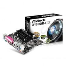 ASRock D1800B-ITX Embedded Intel CPU Dual Core J1800 Mini-ITX DDR3/DDR3L D-Sub/HDMI USB 3.1 Motherboard
