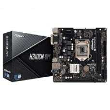 ASRock H310CM-DVS Intel Socket 1151 Micro ATX VGA/DVI-D USB 3.0 Motherboard