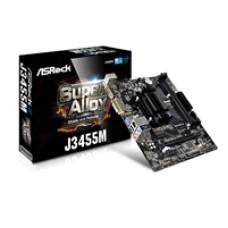 ASRock J3455M Intel Embedded Celeron J3455 Micro ATX VGA/DVI-D/HDMI DDR3 USB 3.1 Motherboard