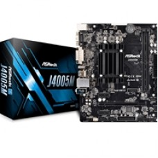 ASRock J4005M Embedded Intel Dual Core J4005 2.7GHz Micro ATX DDR4 D-Sub/DVI-D/HDMI USB 3.1 Motherboard
