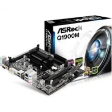 ASRock Q1900M Intel Embedded Celeron J1900 Micro ATX VGA/DVI-D/HDMI DDR4 USB 3.1 Motherboard