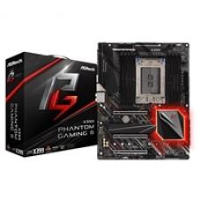 ASRock X399 Phantom Gaming 6 AMD Socket TR4 ATX Triple M.2 DDR4 RGB USB C 3.1 Motherboard
