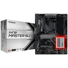 ASRock X470 Master SLI AMD Socket AM4 ATX HDMI DDR4 USB C 3.1 M.2 Motherboard