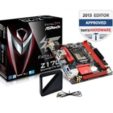 ASRock Fatal1ty Z170 GAMING-ITX/AC Intel Socket 1151 Mini-ITX DDR4 HDMI/DisplayPort M.2 USB 3.0/3.1 Motherboard