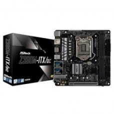 ASRock Z390M-ITX/ac Intel Socket 1151 Mini ITX Dual HDMI/DisplayPort USB C 3.1 WiFi M.2 Motherboard