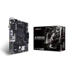 Biostar A32M2 AMD Socket AM4 HDMI/VGA Micro ATX USB 3.2 Gen1 M.2 Motherboard