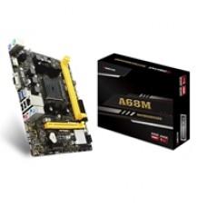 Biostar A68MHE AMD Socket FM2+ HDMI/VGA Micro ATX USB 3.2 DDR3 Motherboard