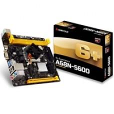 Biostar A68N-5600 Embedded AMD APU Quad Core A10-4655 Radeon HD7620G Graphics Mini-ITX DDR3 VGA/HDMI USB 3.0 Motherboard
