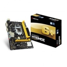 Biostar H110MDE Intel Socket 1151 Micro ATX DDR4 D-SUB/DVI-D USB 3.1 Motherboard