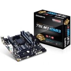 Gigabyte GA-78LMT-USB3 AMD Socket AM3+ Micro ATX VGA/DVI-D/HDMI USB 3.0 Motherboard