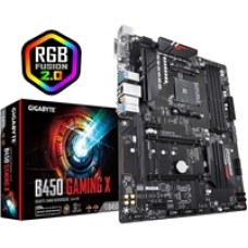 Gigabyte B450 Gaming X AMD Socket AM4 ATX DDR4 DVI-D/HDMI M.2 Motherboard