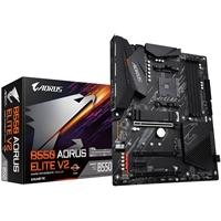 Gigabyte B550 AORUS ELITE V2 AMD Socket AM4 ATX HDMI/DIsplayPort M.2 RGB USB 3.2 Type-C Motherboard