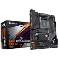 Gigabyte B550 AORUS PRO AC AMD Socket AM4 ATX HDMI Dual M.2 USB C 3.2 Gen2 Wi-Fi ac Motherboard