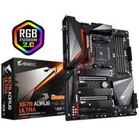 Gigabyte X570 AORUS ULTRA AMD Socket AM4 ATX HDMI DDR4 Dual PCIe 4.0 M.2 USB C WiFi 6 RGB Motherboard