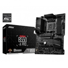 MSI B550-A PRO AMD Socket AM4 ATX HDMI/DisplayPort Dual M.2 USB 3.2 C Motherboard