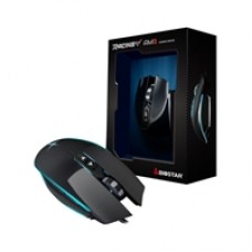 Biostar AM3 Racing USB 7 Colour LED Black Gaming Mouse