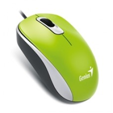Genius DX-110 Green USB Full Size Optical Mouse