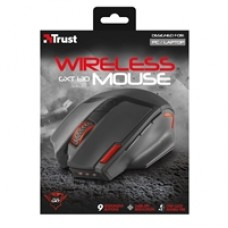 Trust GXT 130 Ranoo Wireless Red LED Black Gaming Mouse