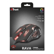 Trust 22090 GXT Rava USB 2.0 Illuminated Gaming Mouse