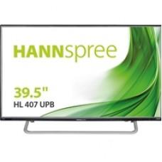 "Hannspree HL407UPB 40"" WUXGA Full HD VGA / HDMI x 2 (CEC) Connectivity inc Speakers Monitor"