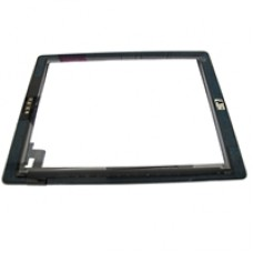 Economy iPad 2 Compatible Touch Screen Assembly Black Copy