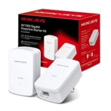 Mercusys MP500 KIT AV1000 Gigabit Powerline Starter Kit (UK Plug)
