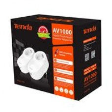 Tenda PH6 1000Mbps AV1000 Gigabit Passthrough Powerline Adapter Kit