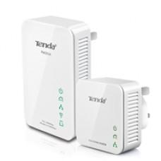 Tenda Wireless PW201A Powerline N300 Extender with P200 Powerline Single Adapter (Bundle)