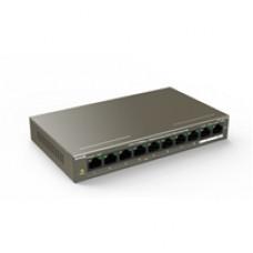 Tenda TEF1110P-8-102W 8 Port 10/100Mbps +2 Gigabit Port PoE Switch