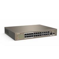 Tenda TEF1126P-24-250W 24 Port 10/100Mbps +1 GE/SFP PoE Switch