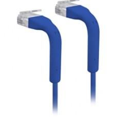 Ubiquiti UC-PATCH-RJ45-BL UniFi Cat6 Ethernet Patch Cable - 22cm Blue