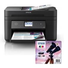 Epson WorkForce WF-2860DWF Printer and Epson 502 Binocular Multipack Inks Bundle