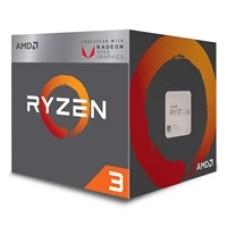 AMD Ryzen 3 2200G with RADEON RX VEGA 8 Graphics 3.5GHz Quad Core AM4 Socket Overclockable Processor