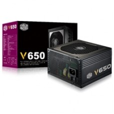 Cooler Master V650 650W 120mm Silencio FP Fan 80 PLUS Gold Fully Modular PSU