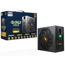 Cronus 650W 140mm Ultra Silent Intelligent Temperature Controlled FDB Fan 80 PLUS Bronze Semi Modular PSU
