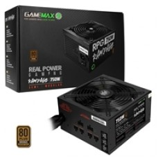 GameMax RPG Rampage 750W 140mm Ultra Silent Fan 80 PLUS Bronze Semi Modular PSU