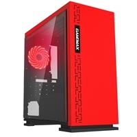 Gaming Red AMD 2200G 3.5GHZ Quad Core 8GB DDR4 RAM 240GB SSD Pre-Built System