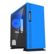 Gaming Blue AMD 2200G 3.5GHZ Quad Core 8GB DDR4 RAM 120GB SSD + 1TB HDD 80 cert PSU Pre-Built System