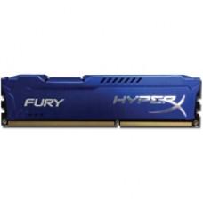Kingston HyperX 8GB FURY Blue Heatsink (2 x 4GB) DDR3 1600MHz DIMM System Memory