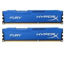 Kingston HyperX 16GB FURY Blue Heatsink (2 x 8GB) DDR3 1600MHz DIMM System Memory
