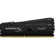 Kingston HyperX Fury 32GB Black Heatsink (2x16GB) DDR4 3600MHz DIMM System Memory